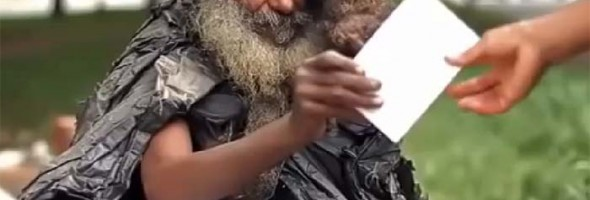 A Woman Befriended This Homeless Man In Brazil. You'll Never Guess What Happens Next…Wow.