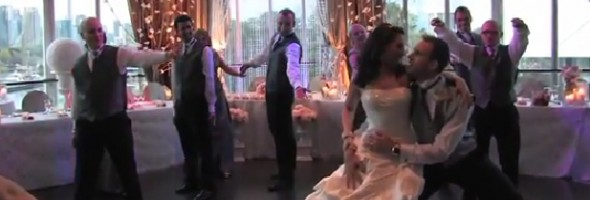 I Gotta Feeling Surprise Wedding Entrance Dance