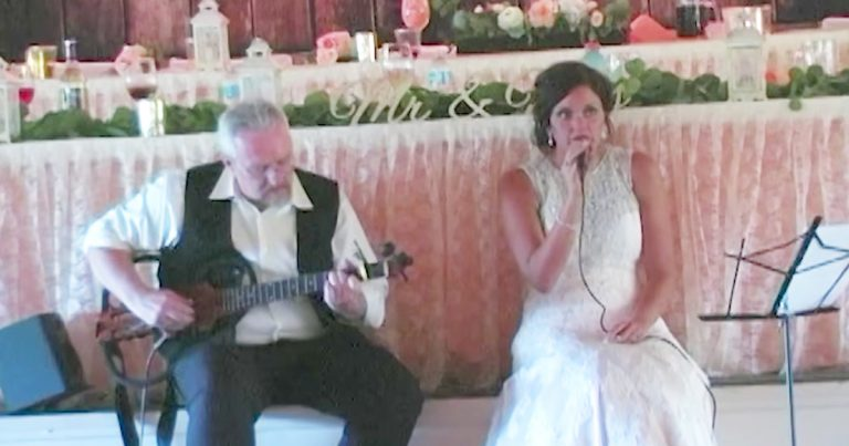 godvine--dad-and-daughter-duet-at-wedding-weeks-before-cancer-