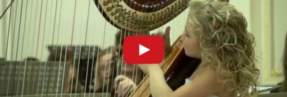 This Child Harpist Will Absolutely Astound You!